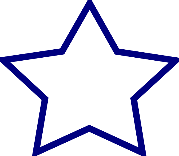 Star clip art at. Clipart stars blue