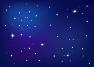 Stars background free picture. Clipart star night sky
