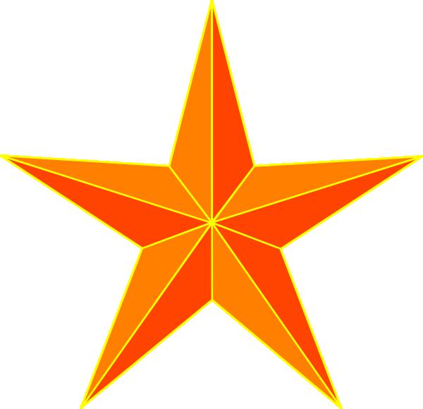 Orange clipart seashell. Star clip art at