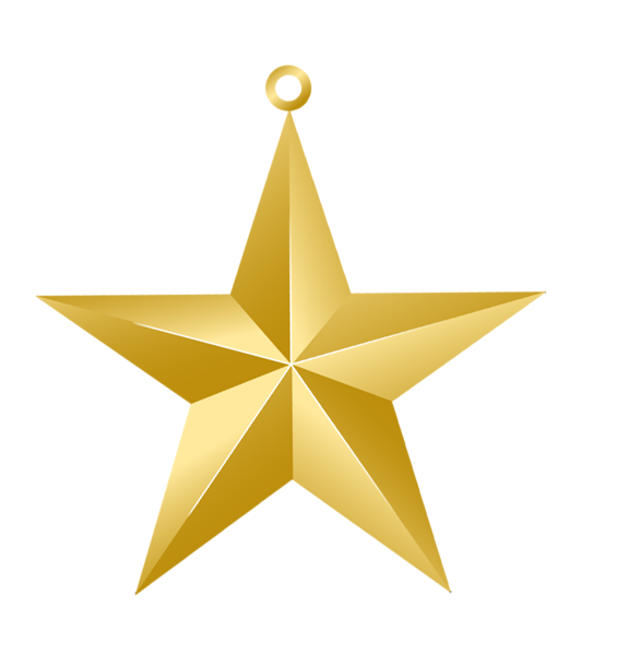 Gold clipart xmas. Christmas star ornament png