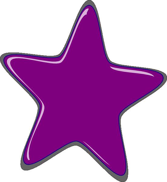 Starfish clipart gambar. Purple star clip art