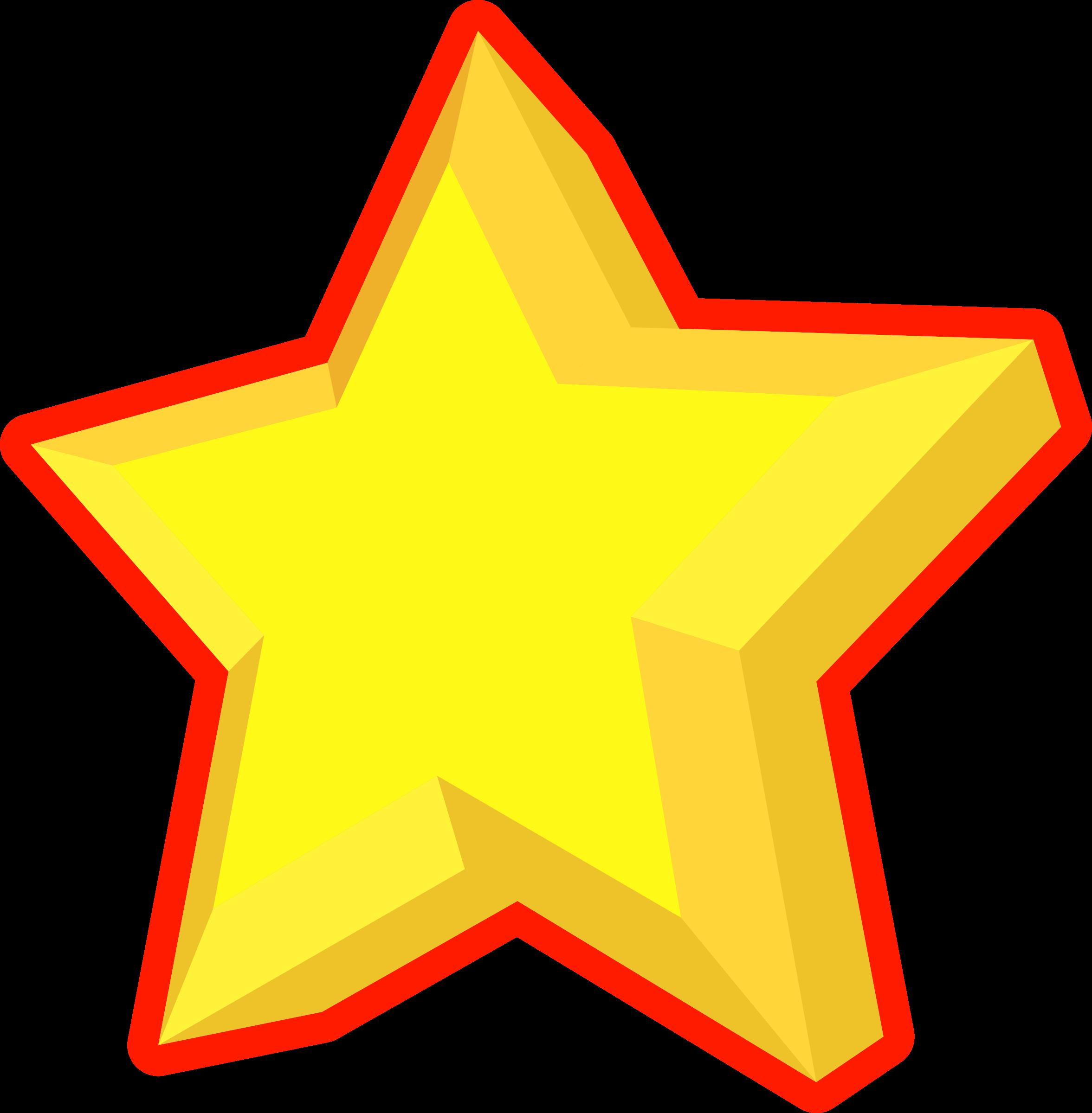 Clipart star reward. Simple d big image