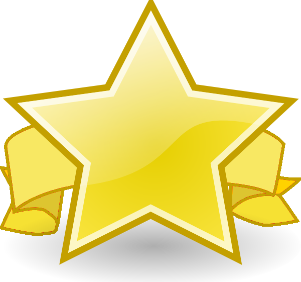 collection of award. Employee clipart star