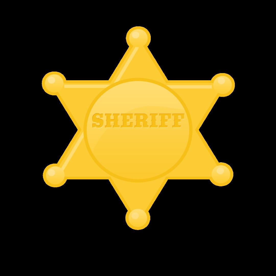 Clipart stars sherrif. Estrela xerife sheriff badge