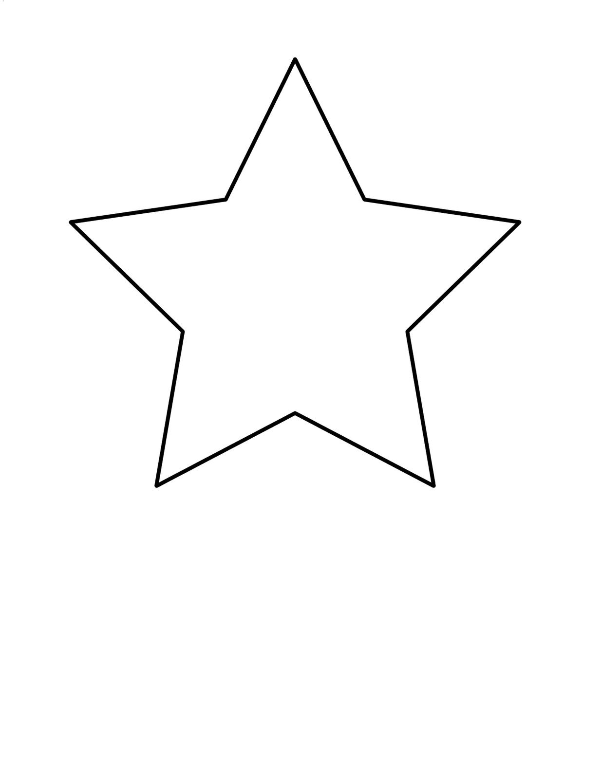 Cute Star Clipart Clip Art Of Star Clipart - Cute Clipart Shapes, HD Png  Download - kindpng