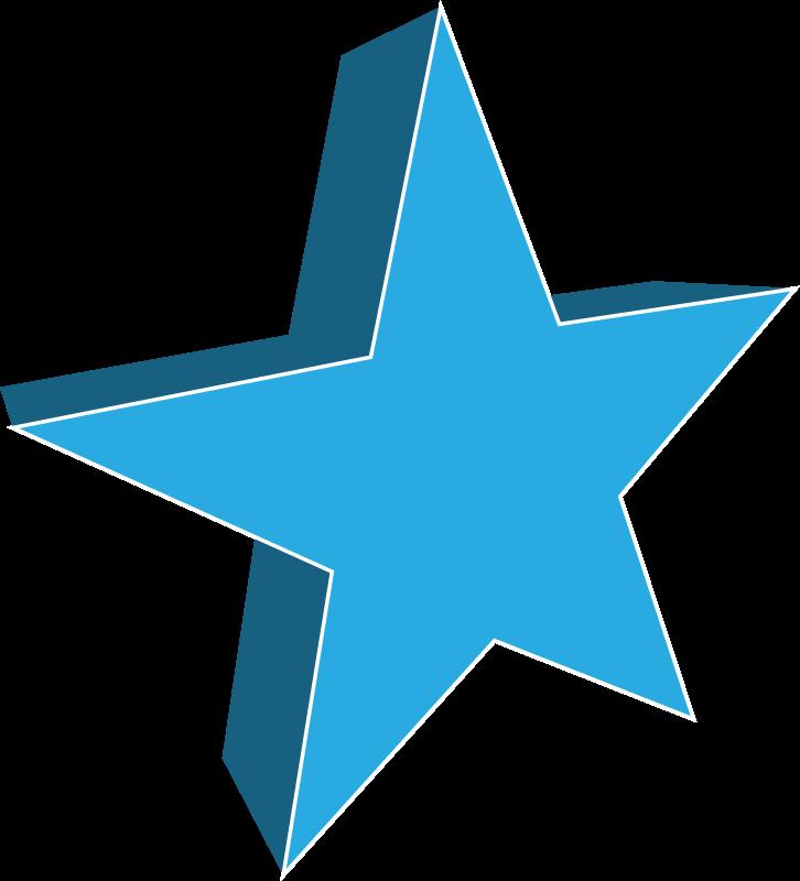 Clipart stars teal.  d star at