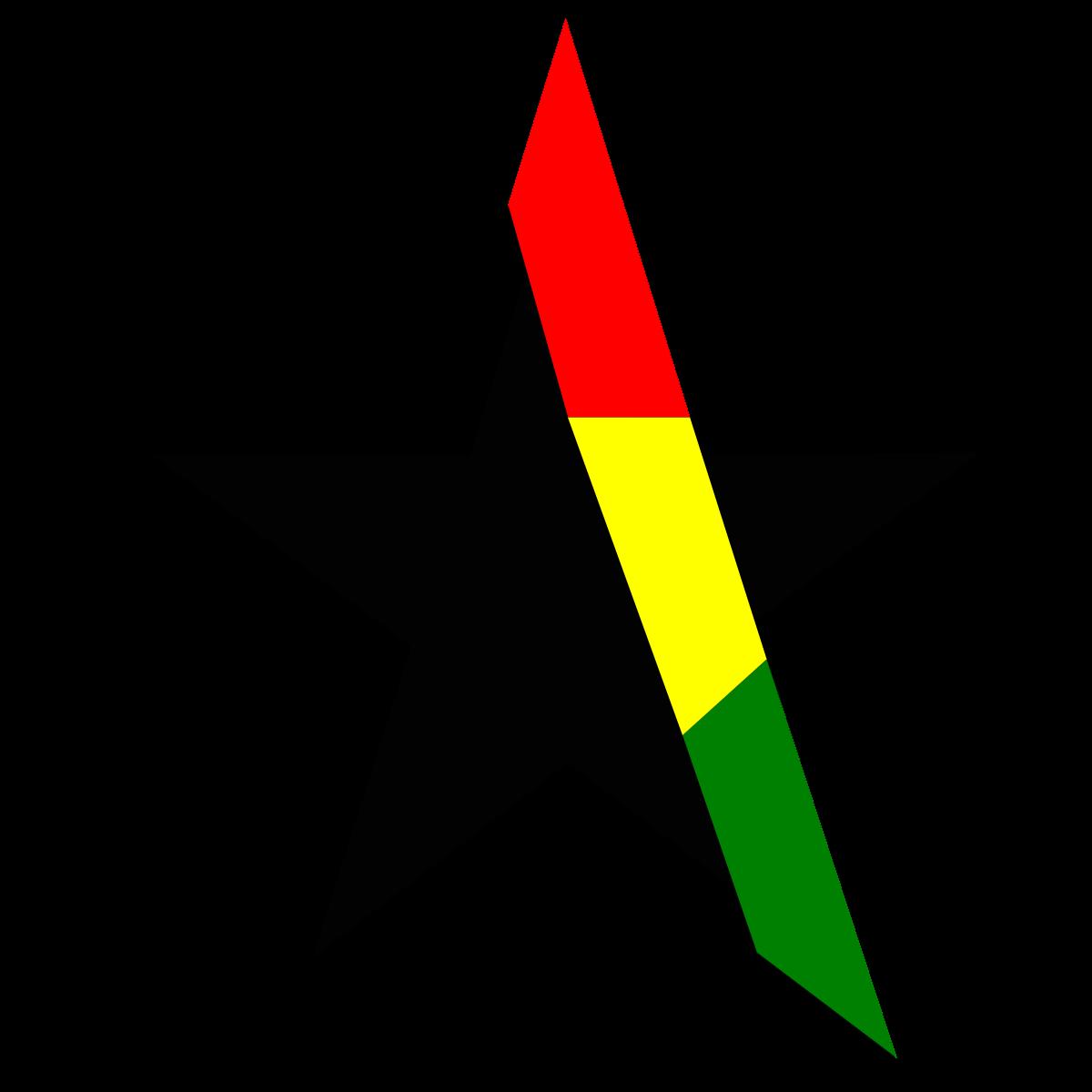 Clipart stars maroon. Black star clip art