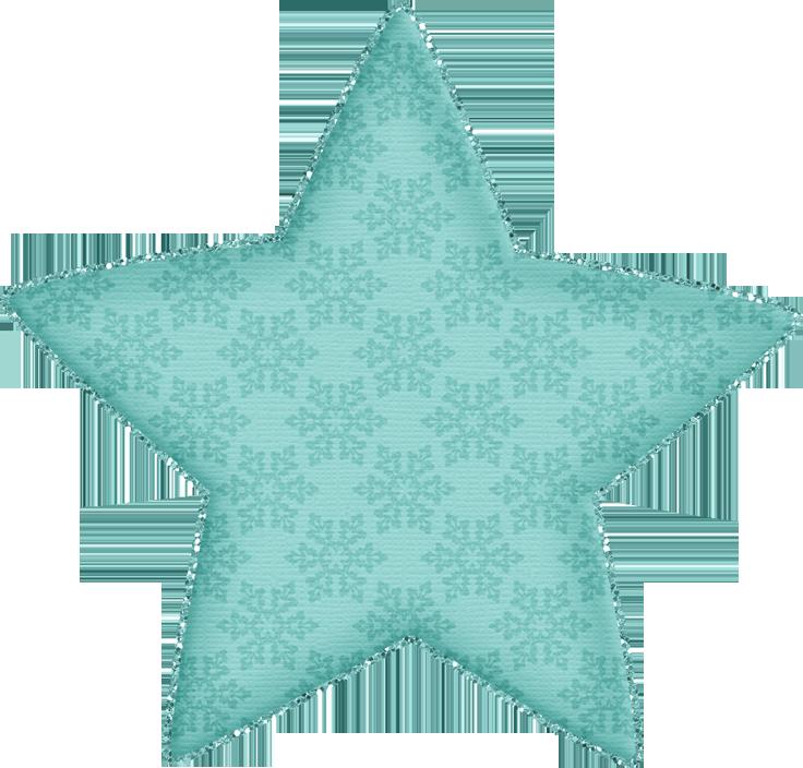 Clipart stars teal. Alena jss heavenly star
