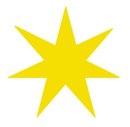 7 clipart yellow. Free stars graphics images