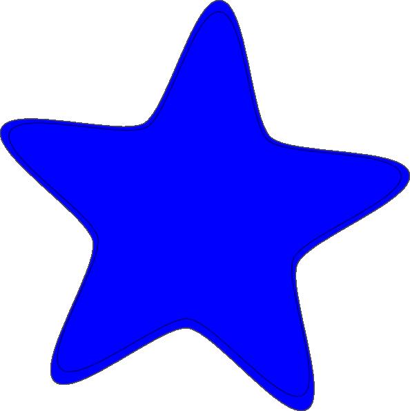 Clipart stars blue. Star clip art at