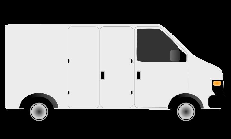 Clip art images panda. Minivan clipart courier van