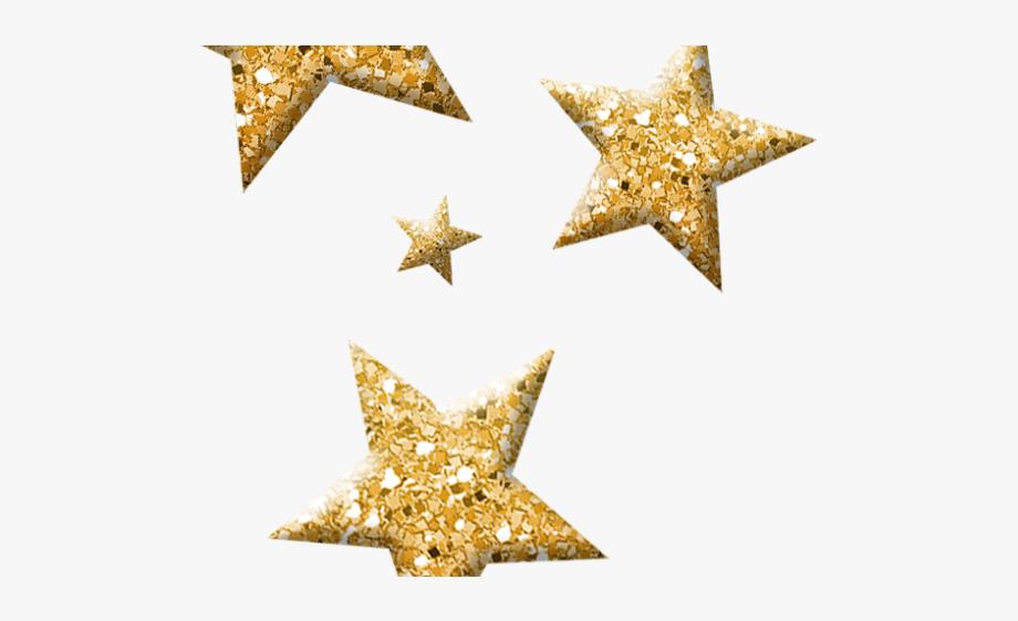 Burgundy gold stars art. Glitter clipart glitter star