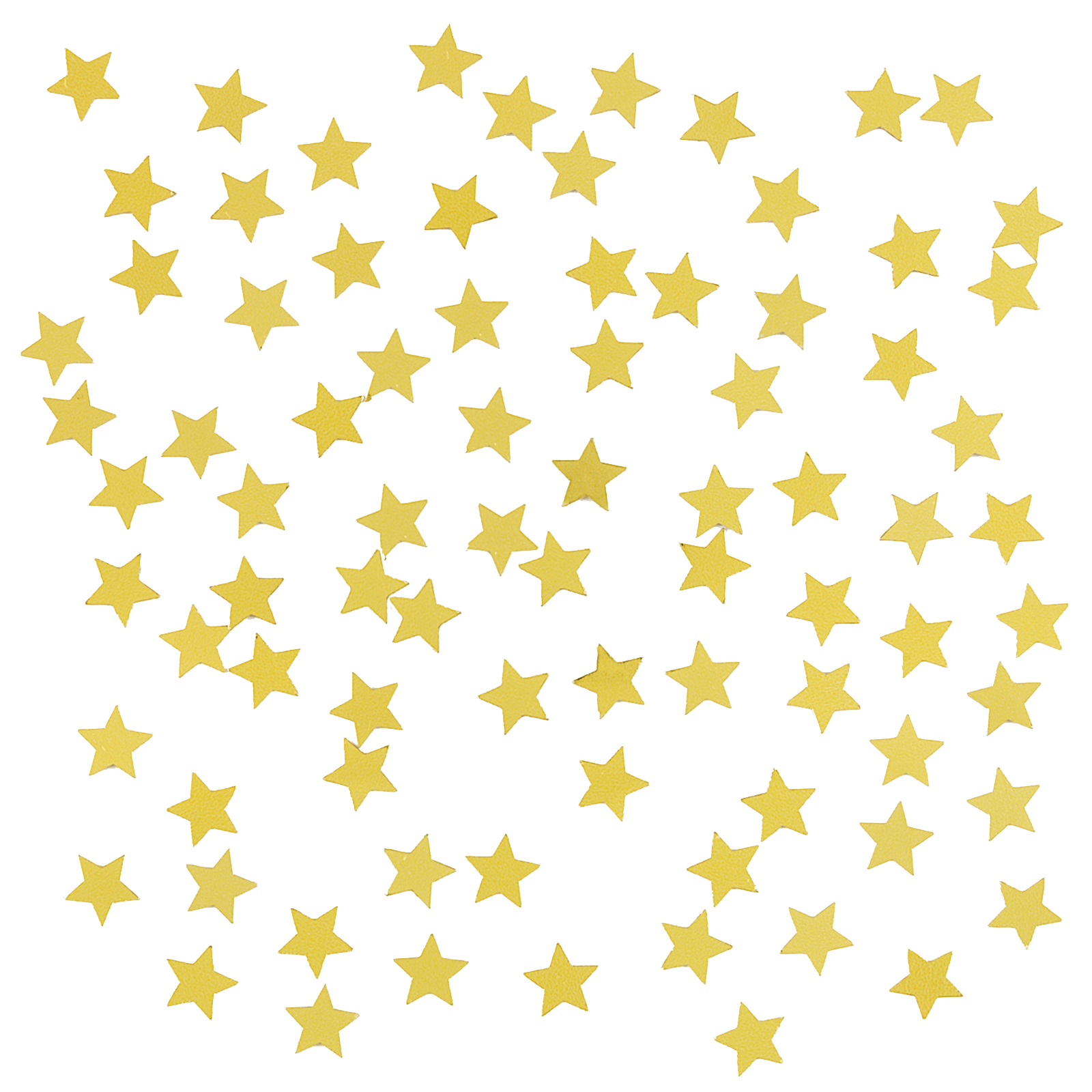 Clip art sticker png. Confetti clipart gold star