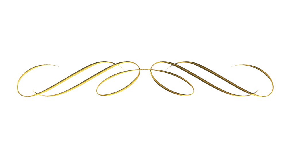 Pearls clipart divider. Decorative line gold free