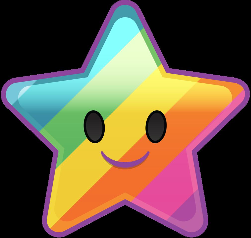 Star png image free. Clipart stars emoji