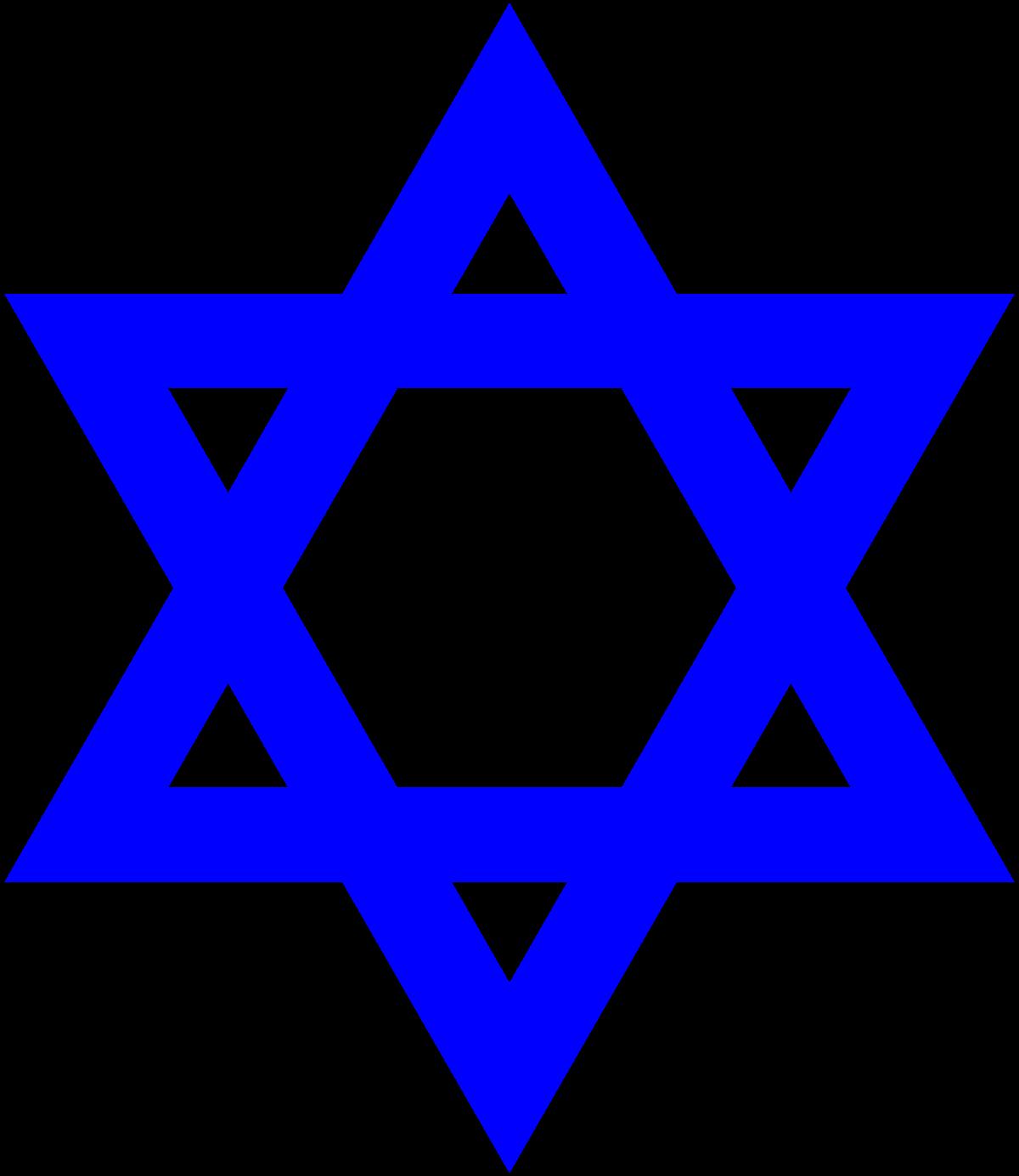 Star of david wikipedia. Rabbi clipart judaism symbol