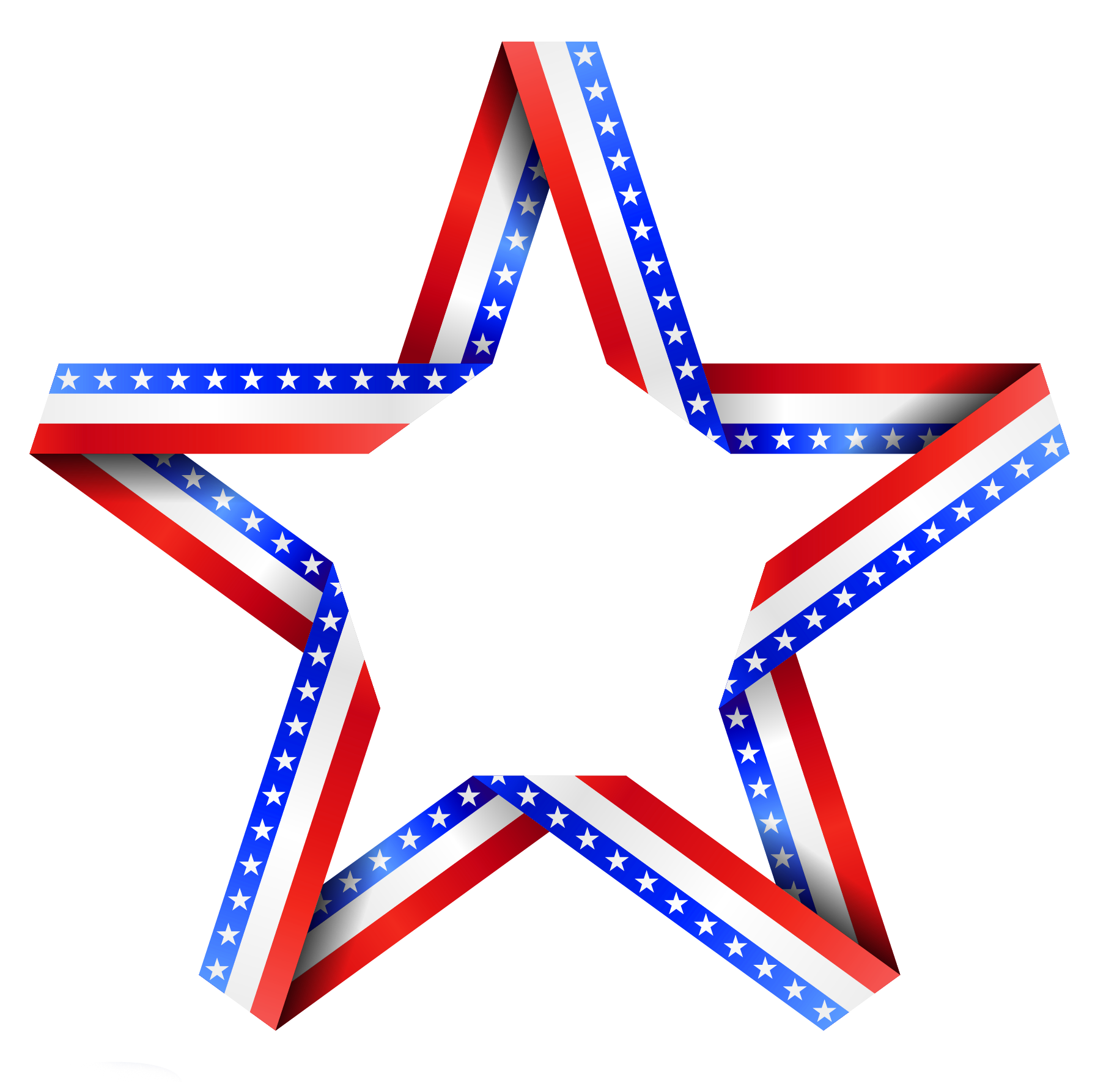 American decor png gallery. Glass clipart star