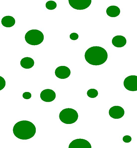 Green polka dots clip. Dot clipart dot pattern