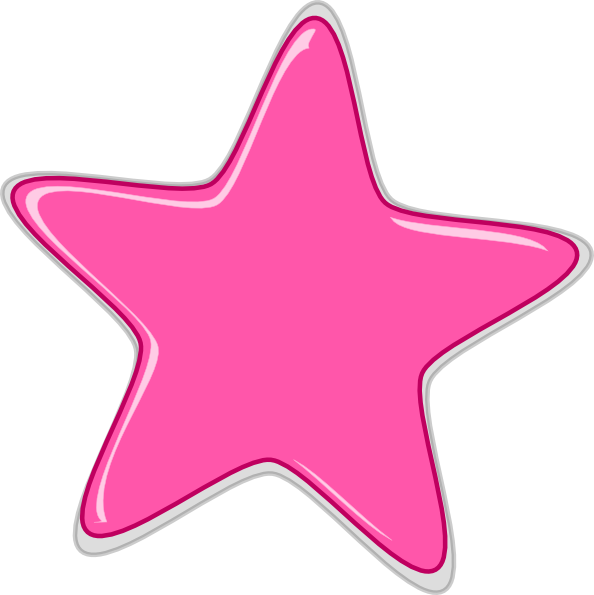 Star edited clip art. Psychology clipart pink