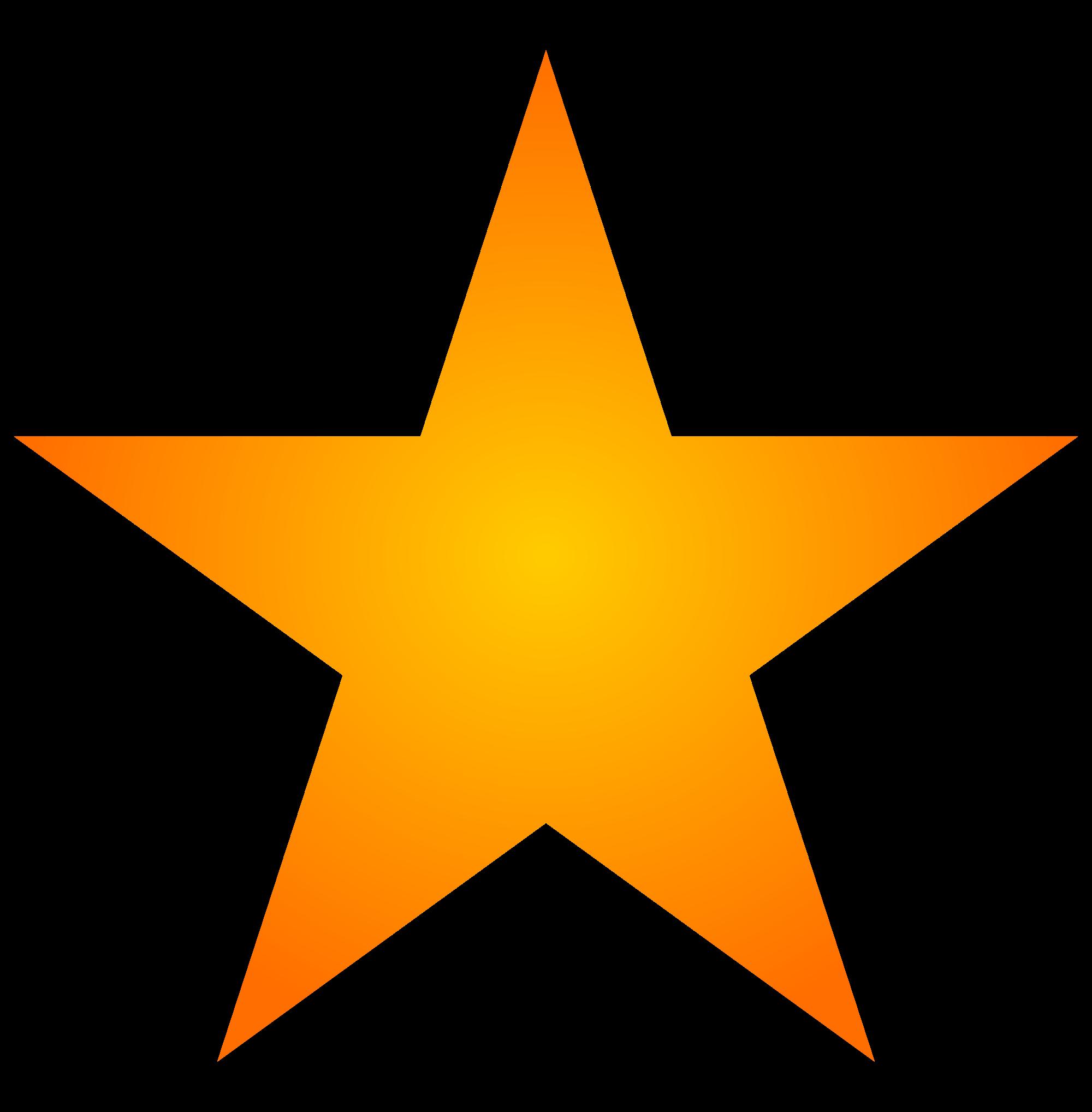 Orange three isolated stock. Galaxy clipart realistic star