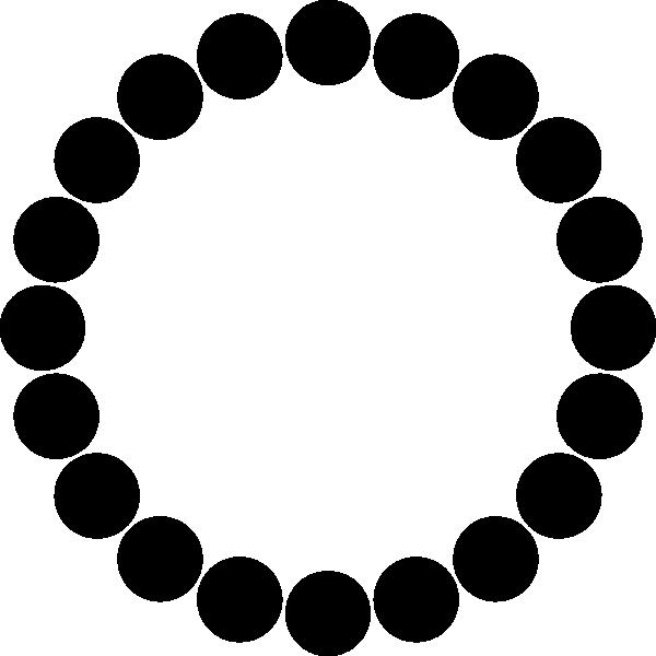 Clipart stars ring. Black circle clip art