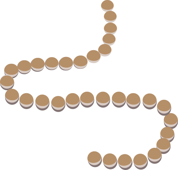 pearl clipart string bead