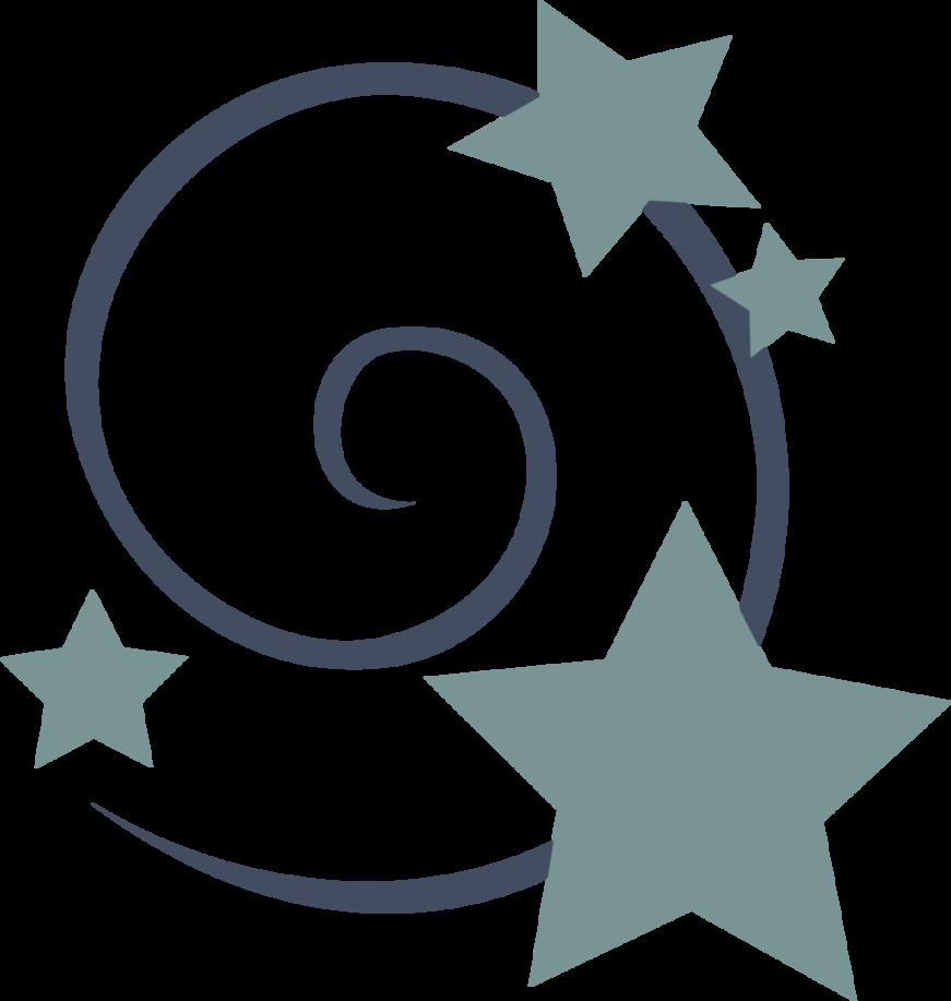 Starswirl s cutiemark by. Clipart stars swirl