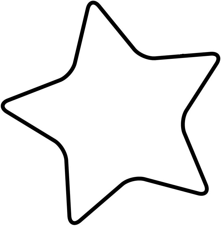 Clipart stars template. Free star large download