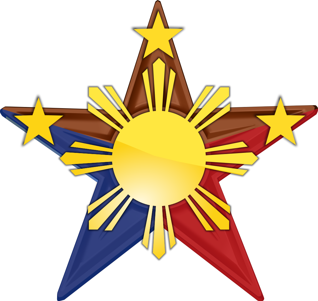 Collection of stars cliparts. Mango clipart philippine symbol