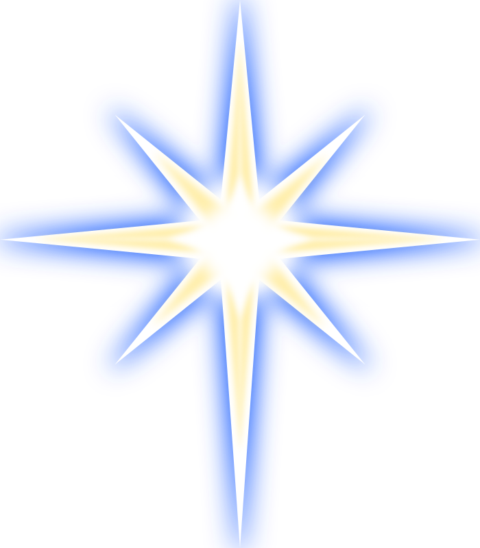 Nativity clipart background. Free star images to
