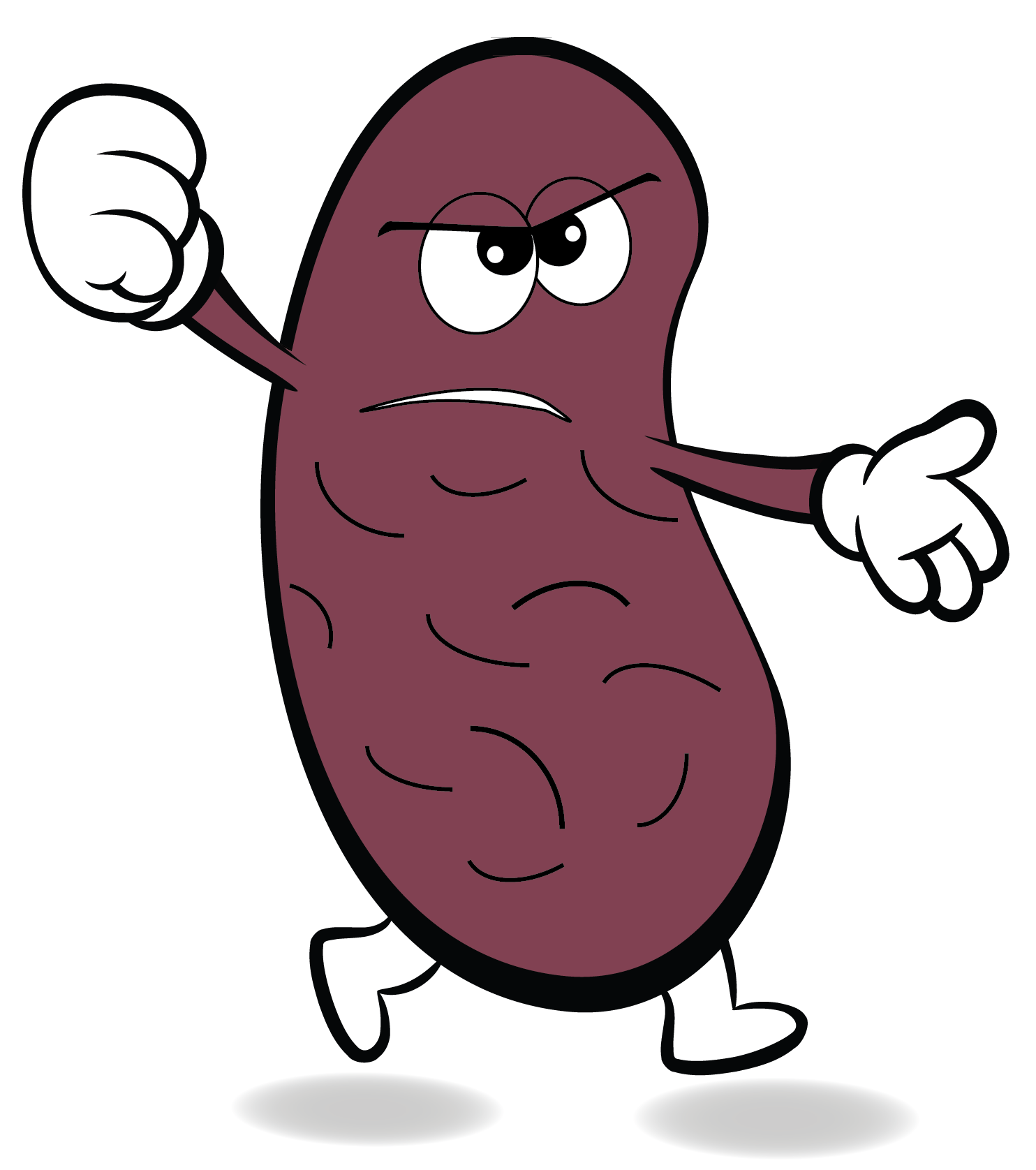 Kidney bean hanslodge cliparts. Beans clipart character