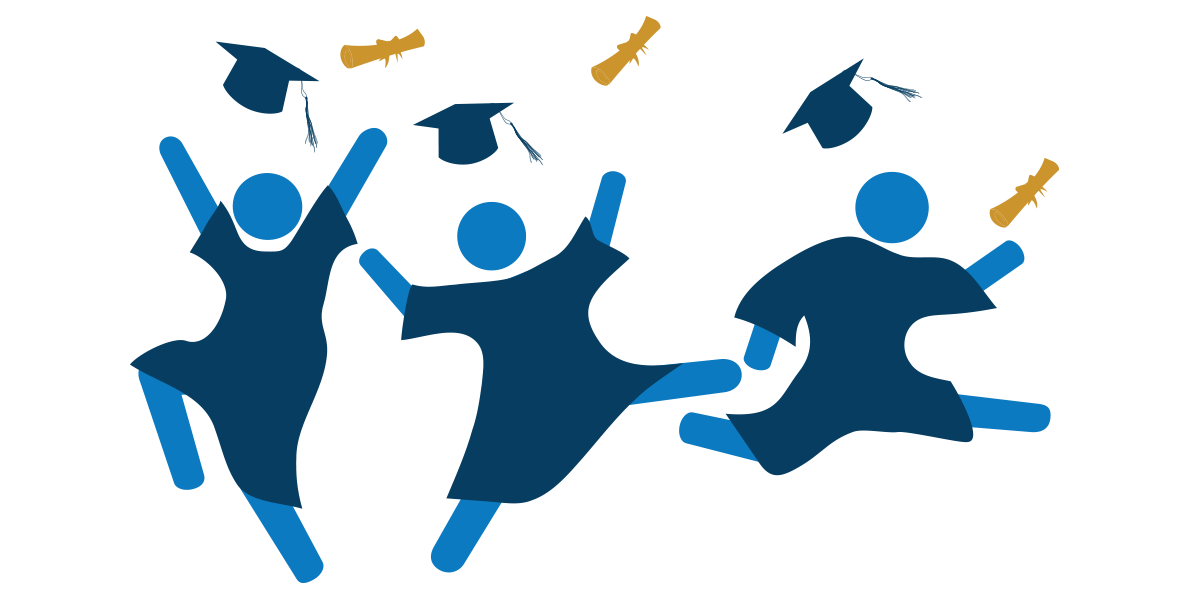 Student clipart celebration. How we support college
