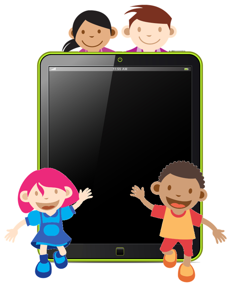 Person clipart technology.  collection of student