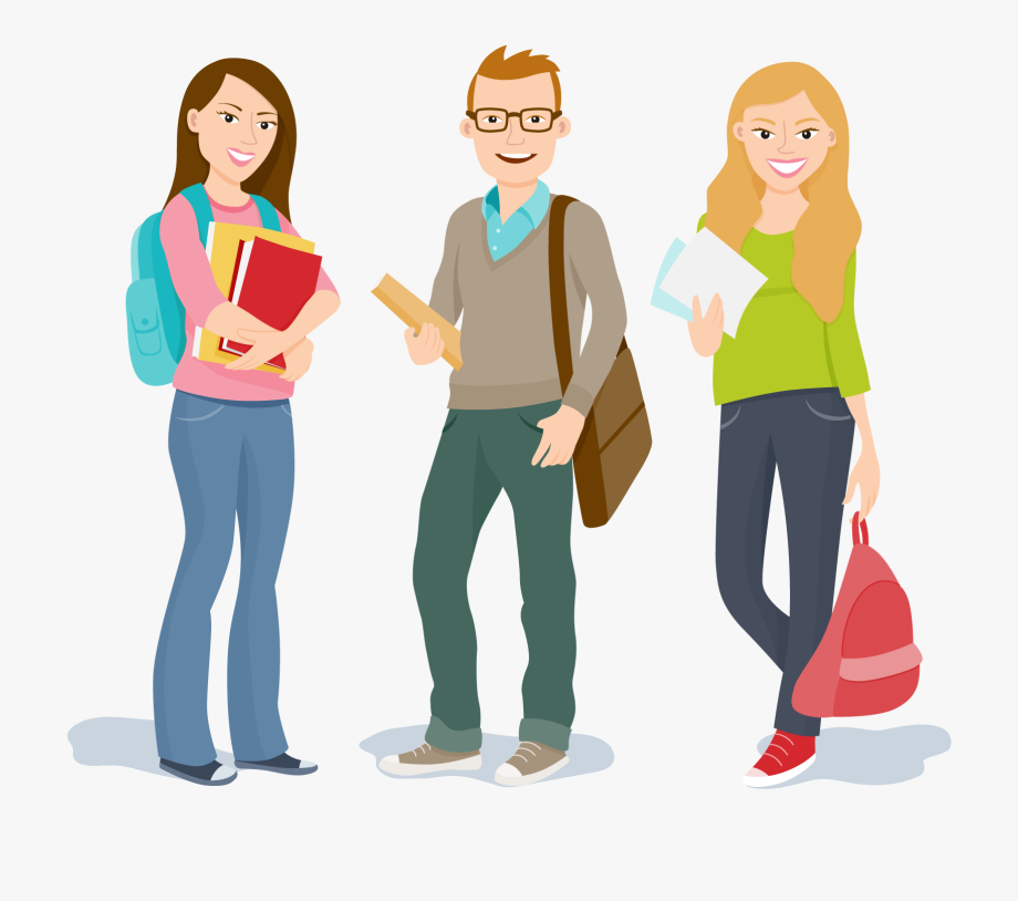 University education . Student clipart college student