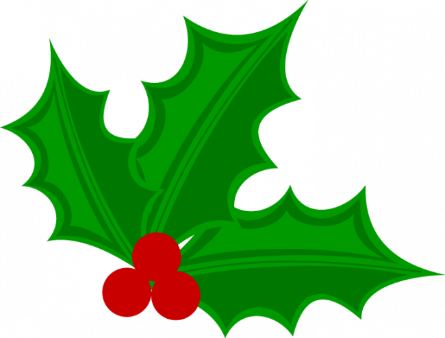 Christmas holly nice pages. Coloring clipart student
