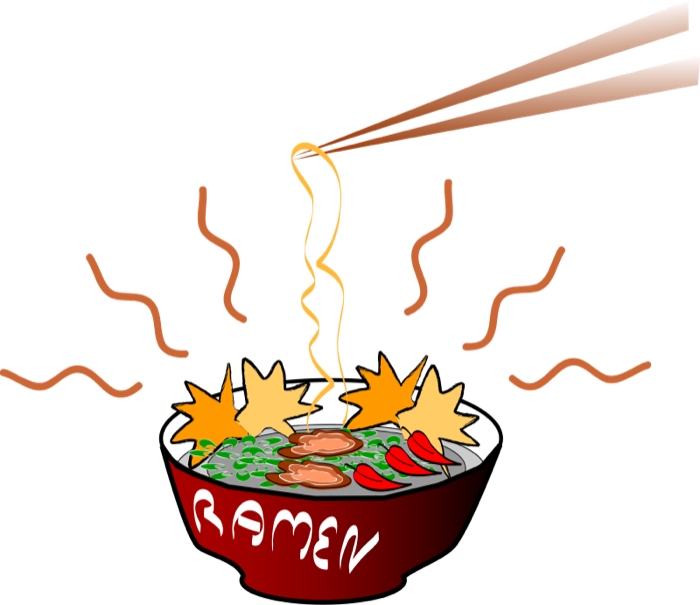 Asian food ramen or. Noodle clipart ring