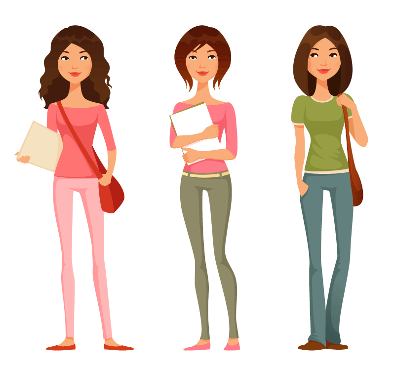 Human clipart college student.  high school free