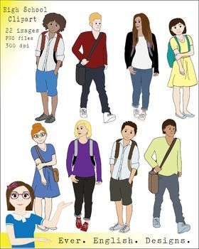 Clipart student highschool. Pin on teen clip