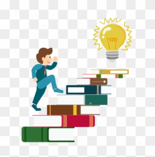 Ladder clipart student. Free png clip art
