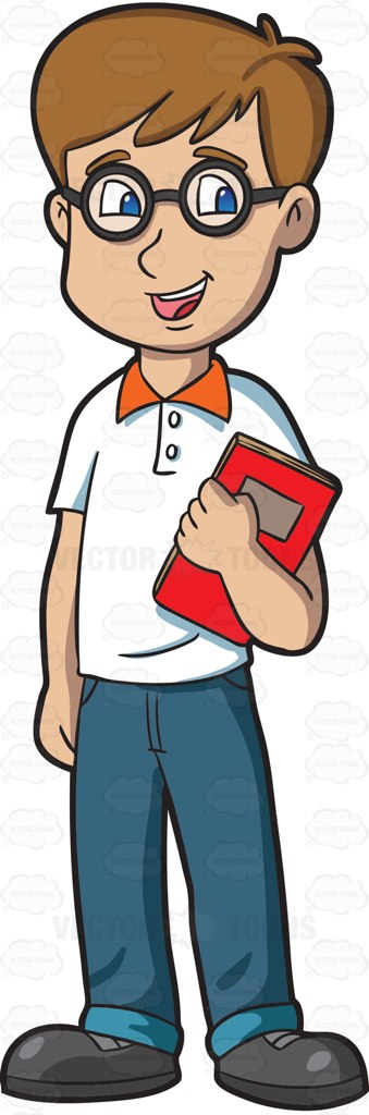 Student clipart male. A high school with