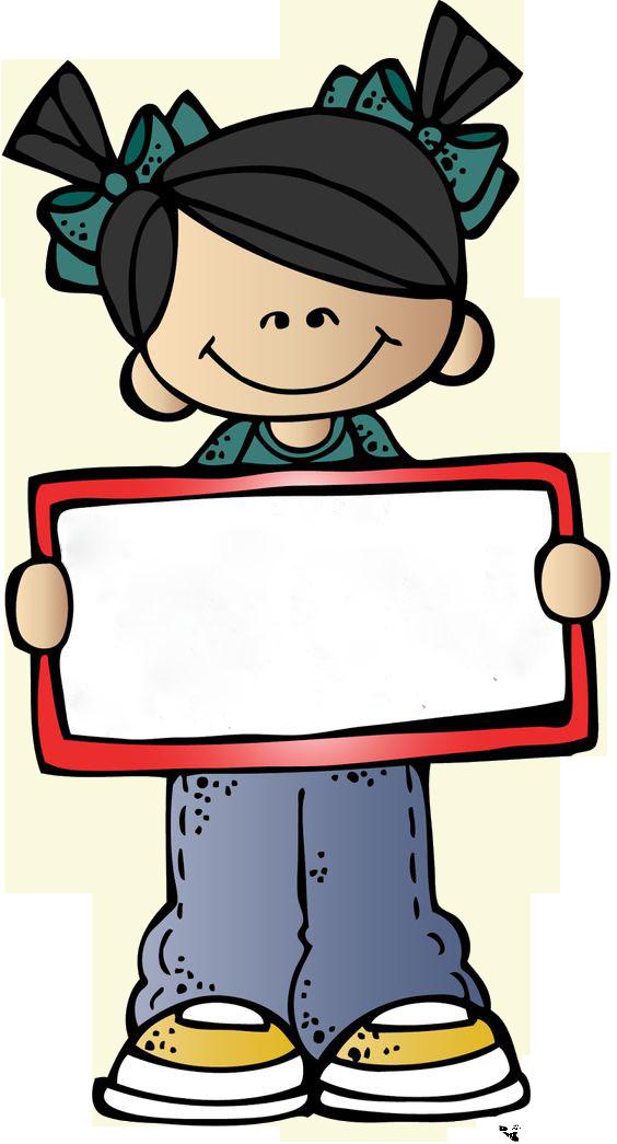 Clipart student pre k.  pancartas pancarta ms