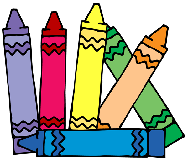 Crayon clipart suply.  collection of pre