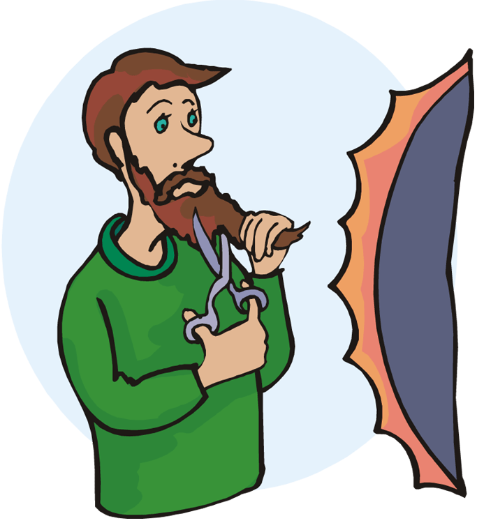 Reflecting on with john. Writer clipart student reflection