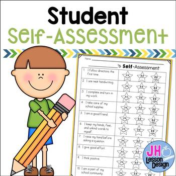 Assessment worksheet . Student clipart self reflection