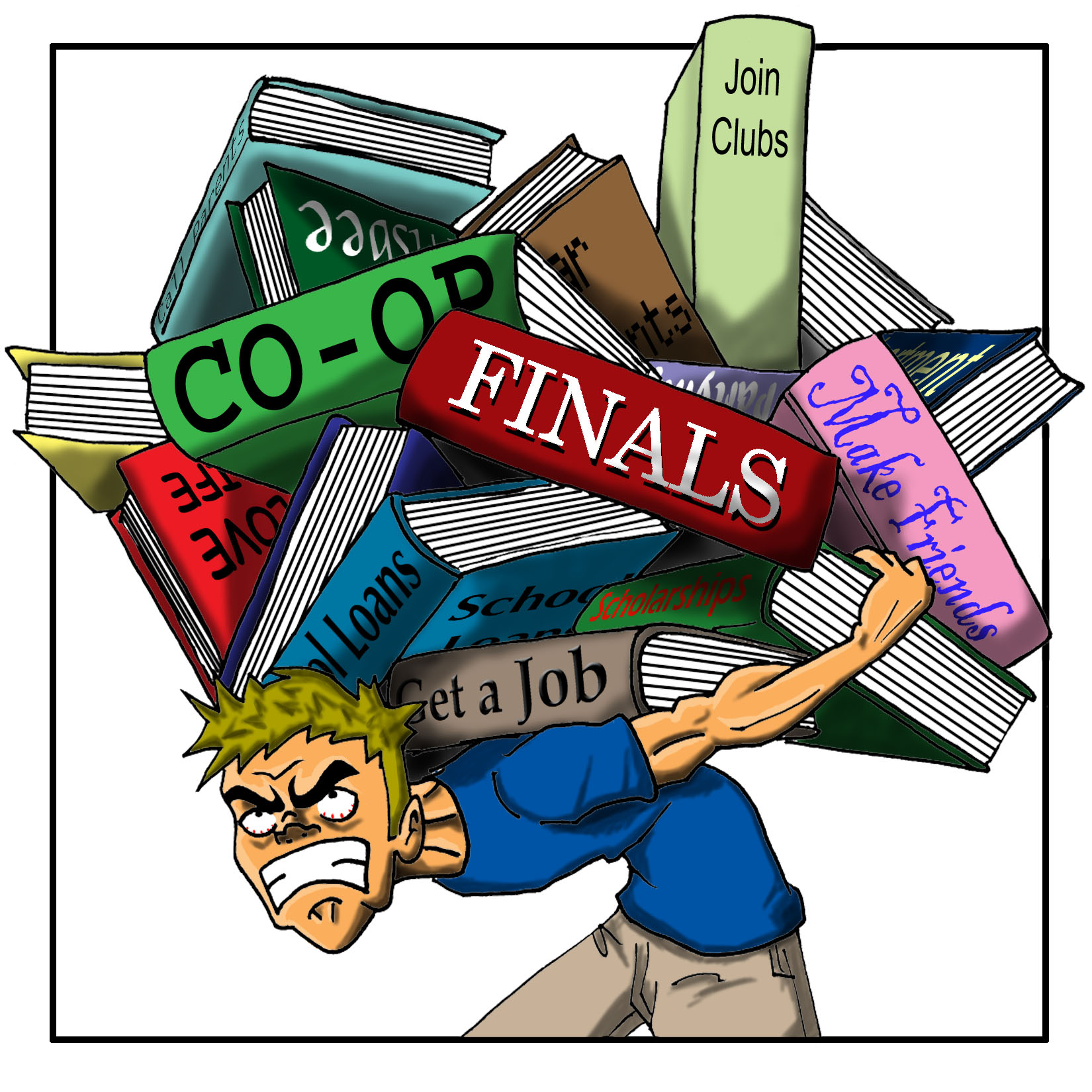 Stress clipart learner. Student cliparts free download