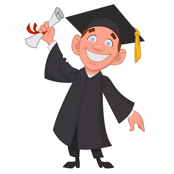 collection of students. Student clipart university student