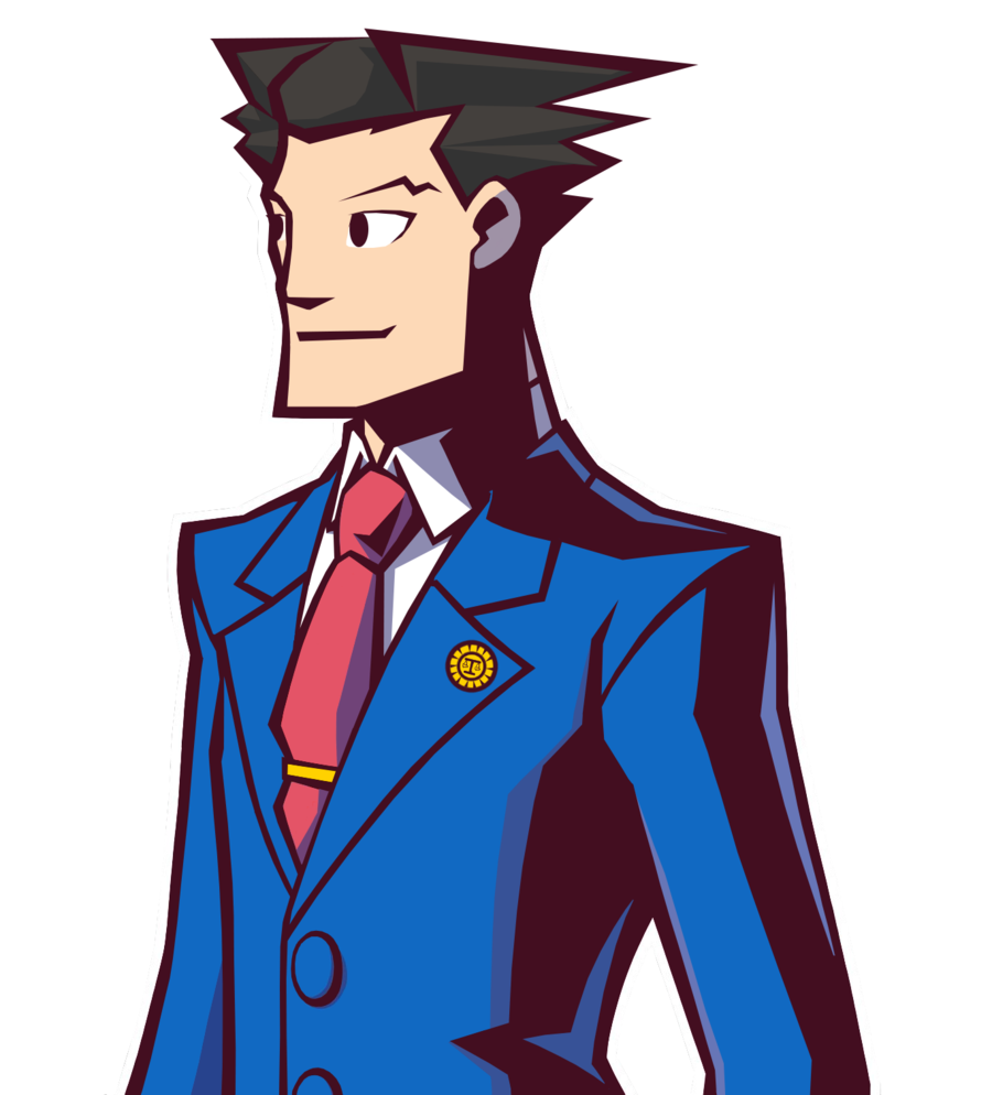 Student clipart uniformed. Phoenix wright in ghost