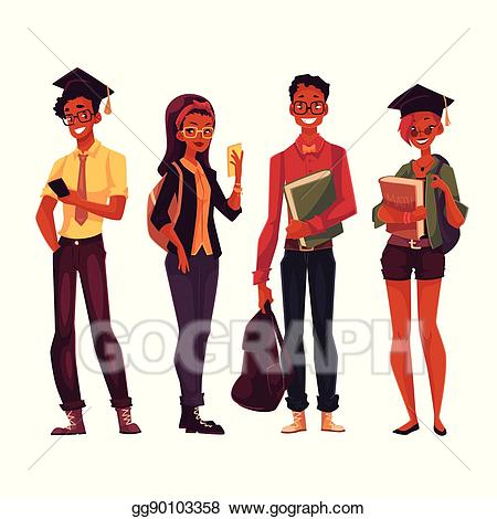 10,713 College Students Illustrations, Royalty-Free Vector Graphics & Clip  Art - iStock