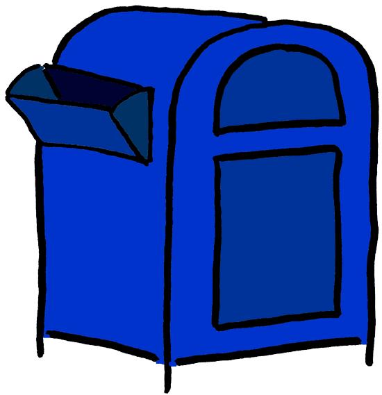 Mailbox clipart postal service. Newsroom panda free images
