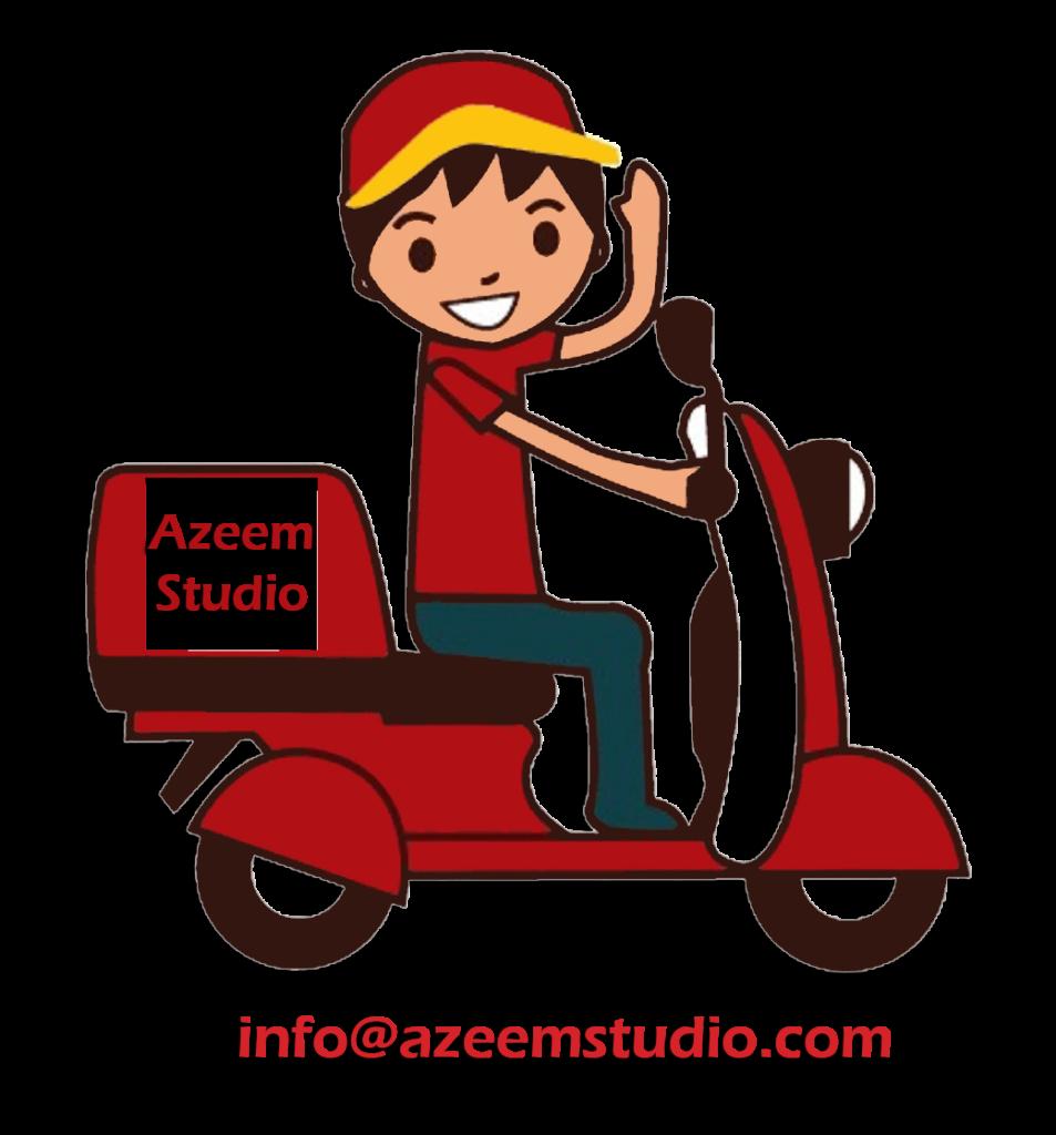 Home delivery azeem. Clipart studio professional service